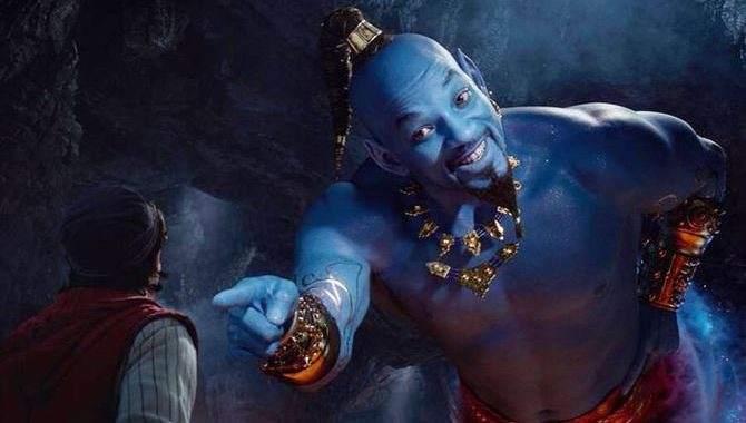 Aladdin Live Action, Starring Will Smith As The Genie