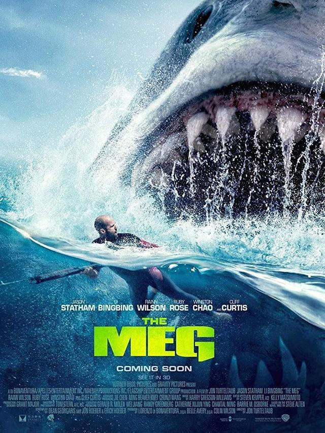 Review Movie: The Meg Starring Jason Statham