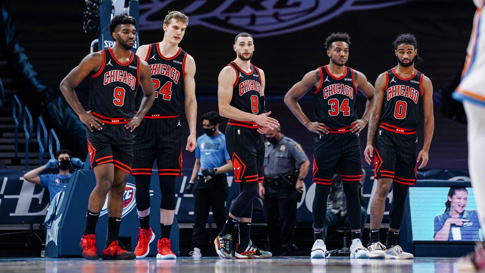 Bulls membutuh kan wendel dan lauri markkanen untuk memperkuat tim mereka.