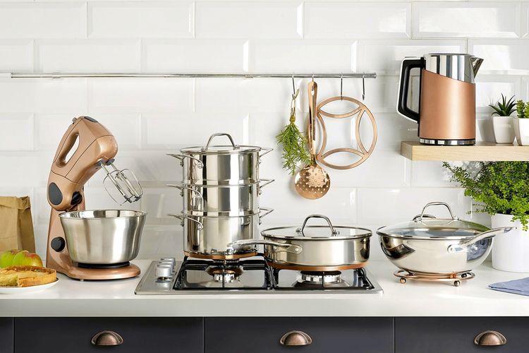 Peralatan – Peralatan Dapur Yang Penting Bagi Pemula.